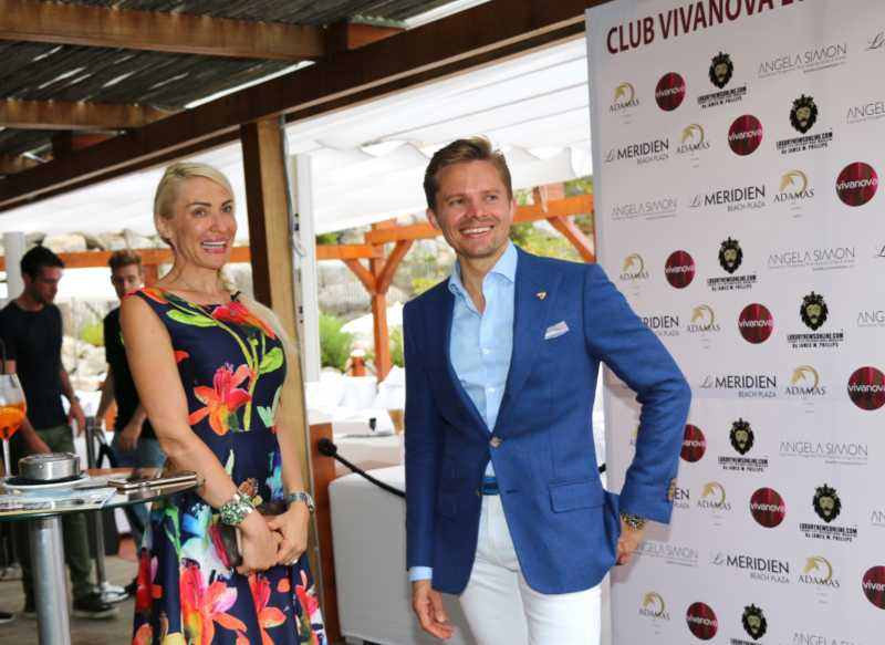 "Lancement du Magazine ""Luxury Life International"" au Beach Méridien à Monaco - le 31 août 2017 - (reporter Pascale Digeaux)"