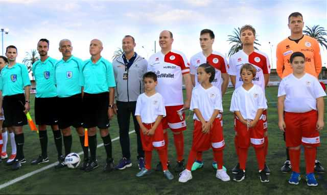 Star Team For Children Monte-Carlo - 26è Match de Football Stars Mondiales -Menton – le 22 mai 2018