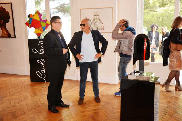 "Vernissage ""The International Multi Art Events Exhibition 2018"" - Château des Terrasses de Cap d'Ail - le 17 avril 2018"