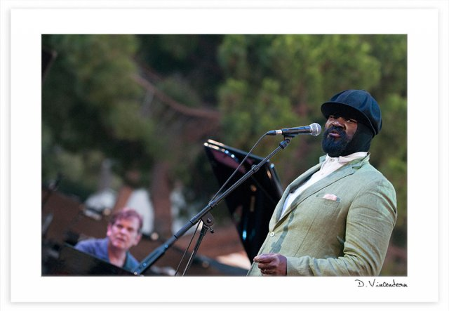 Jazz à juan 2014 - Gregory Porter - Stevie Wonder