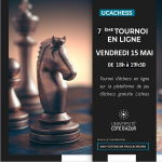 affiche 7e UCA chess club ARENA