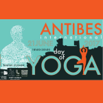 antibes day of yoga Affiche