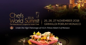 Chefs World Summit 2018 - Grimaldi Forum Monaco