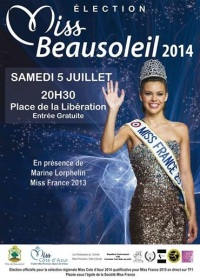 Election Miss Beausoleil 2014