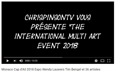 The International Multi Art Events Exhibition 2018 - Vidéo