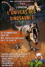 Lunivers des Dinosaures Nice 2020