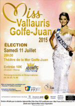 MISS VALLAURIS 2015