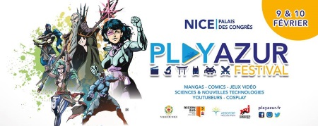 PLAY AZUR FESTIVAL 2019 - Nice