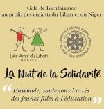 La nuit de solidarité - Amade - Les Amis du Liban-affiche