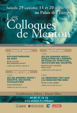 Colloques Menton 2018