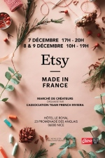 Etsy Made in France Nice déc 2018